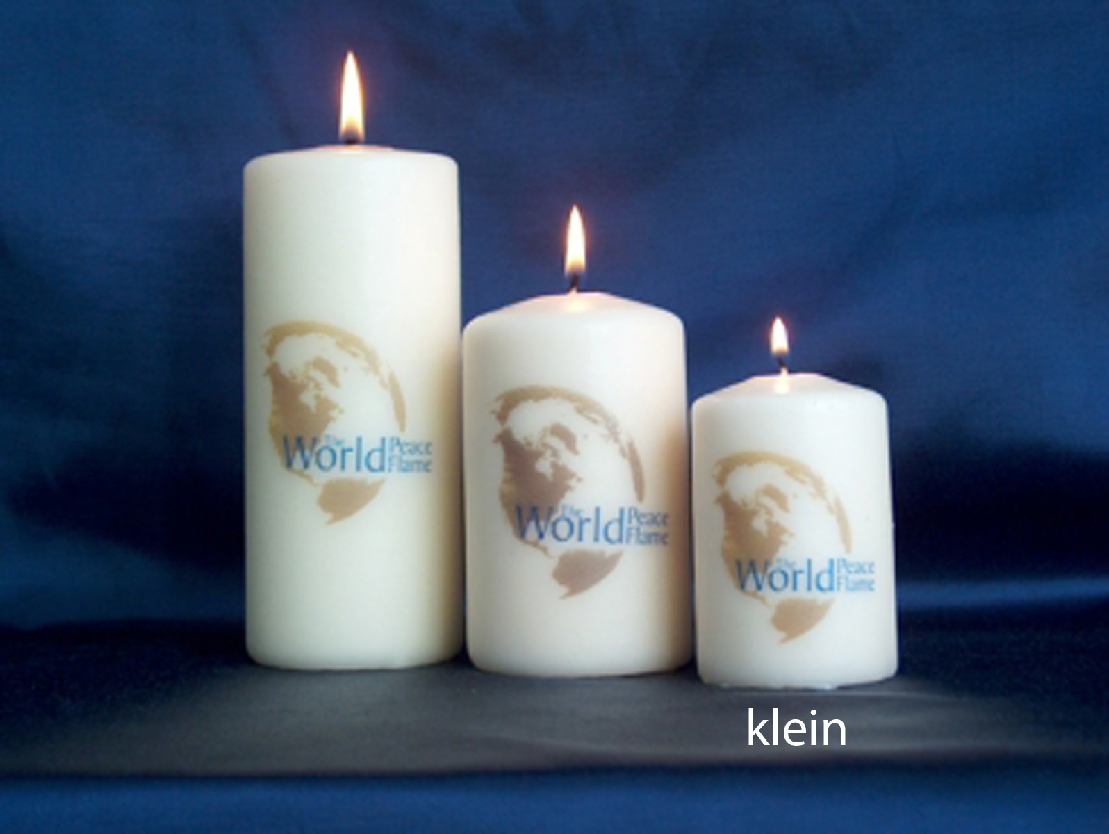Kaars Met Foto.World Peace Flame Shop Kaarsen Wpf Kaars Klein